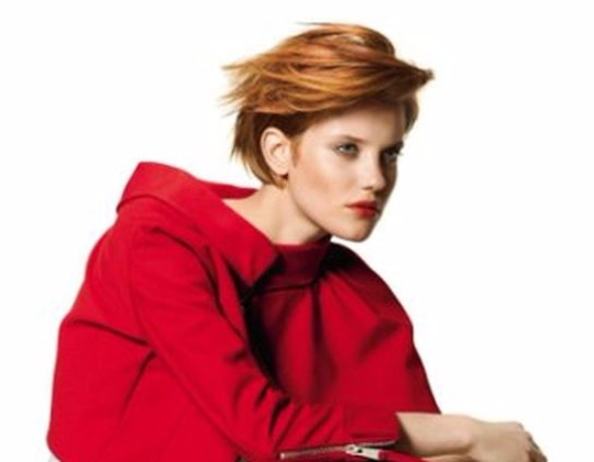 red blond